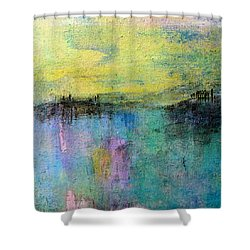 Spring Morning Shower Curtain by Jim Whalen