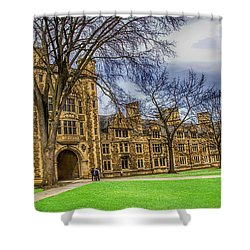 Spring On The Law Quad Shower Curtain by Pat Cook