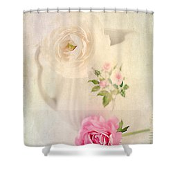 Spring Romance Shower Curtain by Darren Fisher