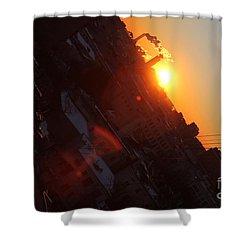 Spring Sunrise Shower Curtain by Anna Yurasovsky