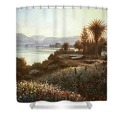 Spring Sunset  Northern Galilee Shower Curtain
