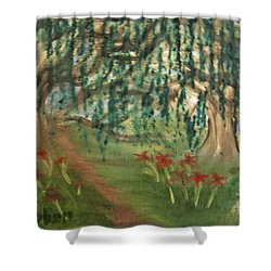 Spring Trail Shower Curtain