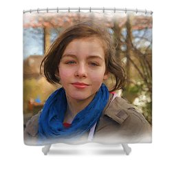 Spring Wind Of Change Shower Curtain