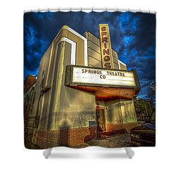 Springs Theater Co Shower Curtain by Marvin Spates