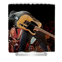 Springsteen In Charlotte Shower Curtain