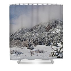 Springtime Colorado Rocky Mountains Boulder Shower Curtain by James BO  Insogna