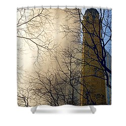 Shower Curtain featuring the photograph Springtime In Chicago by Steven Sparks