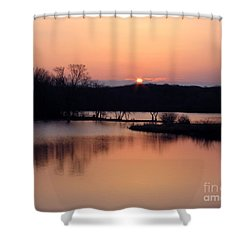 Springtime In Monee Shower Curtain by Cedric Hampton