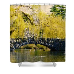 Springtime In Victoria Shower Curtain