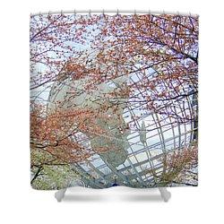 Springtime Round The World Shower Curtain by Ed Weidman