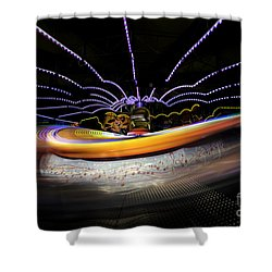 Spun Out 2 Shower Curtain by Ray Warren