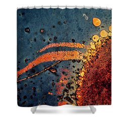 Sputter Shower Curtain