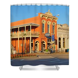 Square Books Oxford Mississippi Shower Curtain