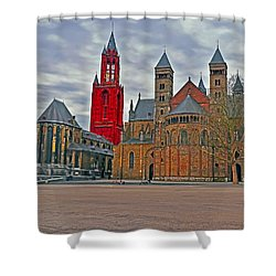 Square Of Maastricht Shower Curtain
