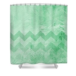 Square Series - Marine 13 Shower Curtain by Andrea Anderegg
