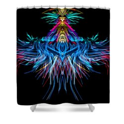 Square Space Shower Curtain