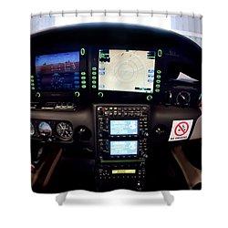 Sr22 Cockpit Shower Curtain
