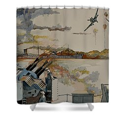 Ss Ohio II Shower Curtain