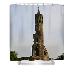 St Andrew's Cathedral Ruins Shower Curtain by DejaVu Designs