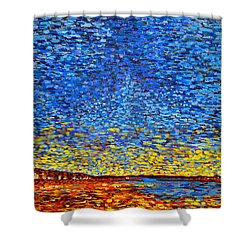 St. Andrews Sunset Shower Curtain
