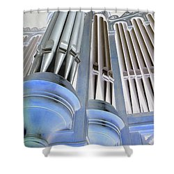 St Augustine Fantasy Organ Shower Curtain