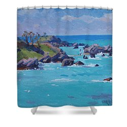 St Catherines Shower Curtain by Dianne Panarelli Miller
