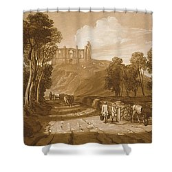 St Catherines Hill Near Guildford Shower Curtain by Joseph Mallord William Turner