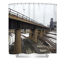 St. Charles Airline Bridge Shower Curtain