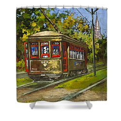 St. Charles No. 905 Shower Curtain by Dianne Parks