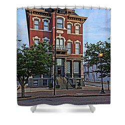 St. Charles Odd Fellows Hall Built In 1878 Dsc00810  Shower Curtain
