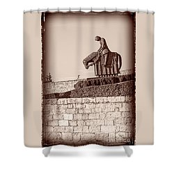 St Francis Returns From Crusades Shower Curtain