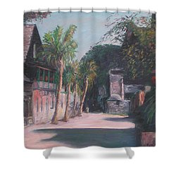 St. George Street II Shower Curtain
