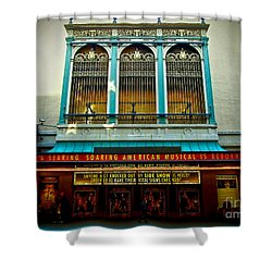 St. James Theatre Balcony Shower Curtain