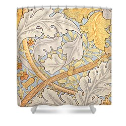 St James Wallpaper Design Shower Curtain by William Morris