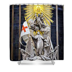 St. John Of Capistrano In Vienna Shower Curtain