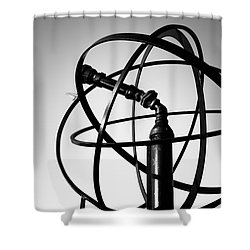 St. Joseph Michigan Water Park Cannon Picture Shower Curtain by Paul Velgos