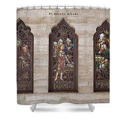 St Josephs Arcade - The Mission Inn Shower Curtain