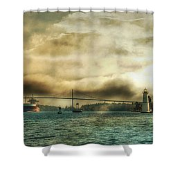 St. Lawrence Seaway Shower Curtain