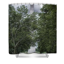 St Louis Arch Shower Curtain