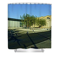 St Louis Art Museum New And Old Shower Curtain