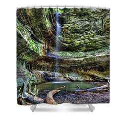 St Louis Canyon Shower Curtain