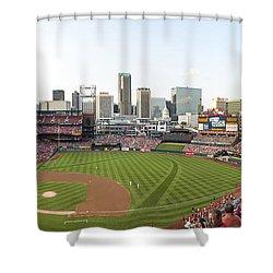 St. Louis Cardinals Pano 1 Shower Curtain