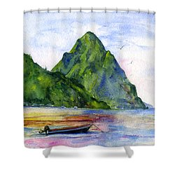 St. Lucia Shower Curtain