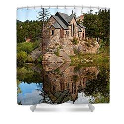 St. Malo Shower Curtain by Jim Garrison