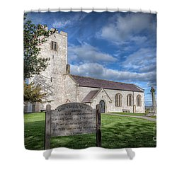 St Marcella's Church Shower Curtain by Adrian Evans