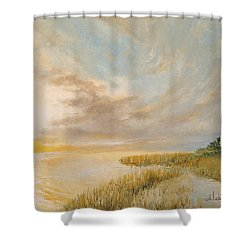 St Marks Lighthouse Shower Curtain