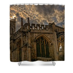 St Martin Coney Street In York Shower Curtain