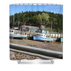 St-martin's Fishing Fleet Shower Curtain