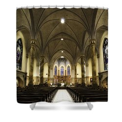 St Mary's Catholic Church Shower Curtain