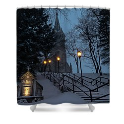 St Mary's Christmas Shower Curtain